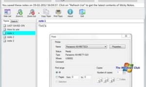 Enumerar y examinar las notas adhesivas de Windows 7 con Sticky7List