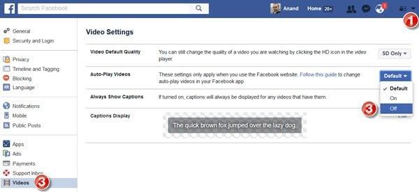 Impedir que los vídeos se reproduzcan automáticamente en los sitios web