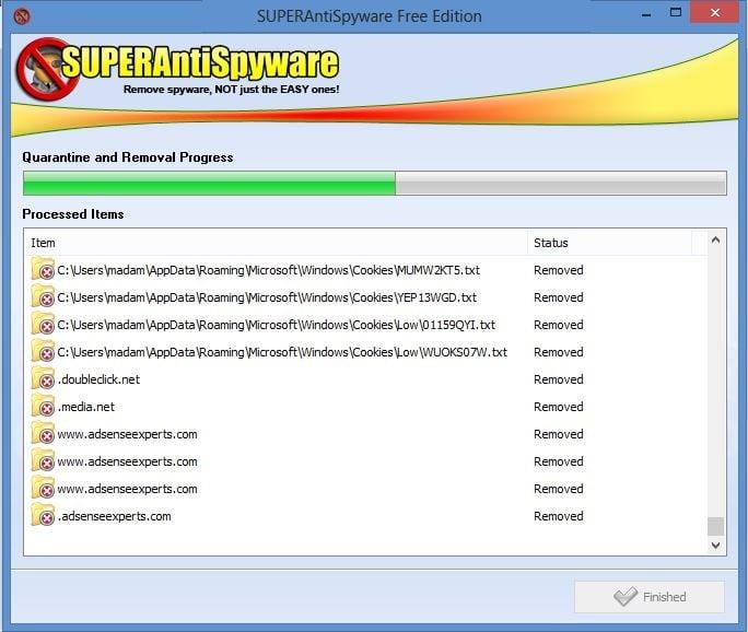 Revisión de SUPERAntiSpyware: Software de seguridad gratuito para la eliminación de spyware y malware para Windows