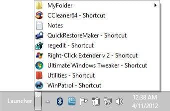 Cree una barra de herramientas personalizada para iniciar programas y archivos rápidamente desde la barra de tareas de Windows 8.