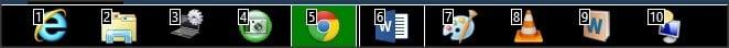 Obtenga más de su teclado Windows con el Numerador de la Barra de Tareas 7 1