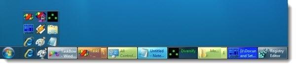 Añada botones multicolores a su barra de tareas de Windows 7 con TaskBow