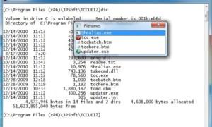 TCC/LE : Un reemplazo gratuito para el símbolo del sistema de Windows