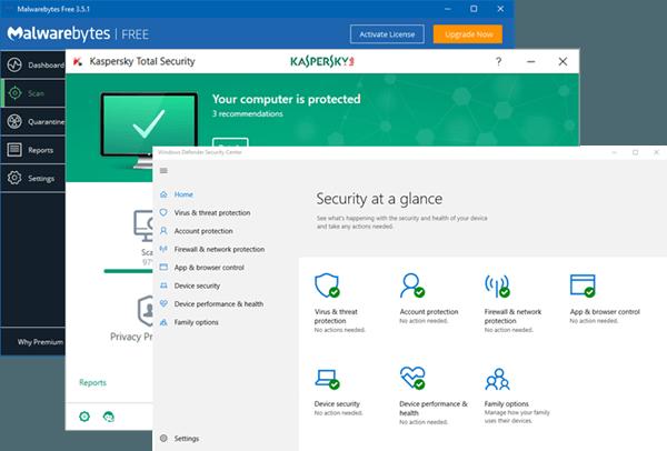 Cómo comprobar o probar si el antivirus funciona correctamente o no en un PC con Windows 1