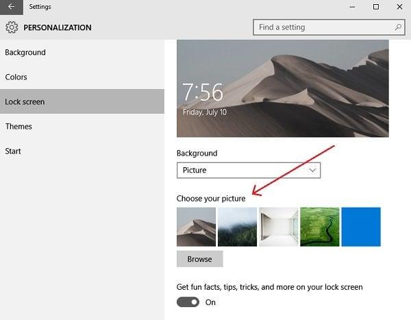 Cómo cambiar el tema, bloquear la pantalla y el fondo de pantalla en Windows 10