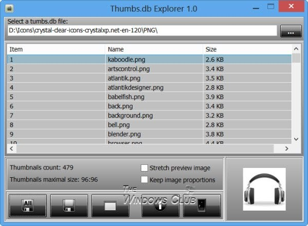 ¿Qué son los archivos Thumbs.db en Windows? Descargar Thumbs.db Viewer freeware