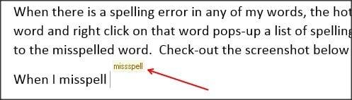 TinySpell : Software gratuito de corrección ortográfica para Windows 1
