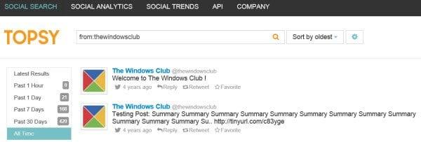 ¿Cuál fue tu primer tweet en Twitter? 2