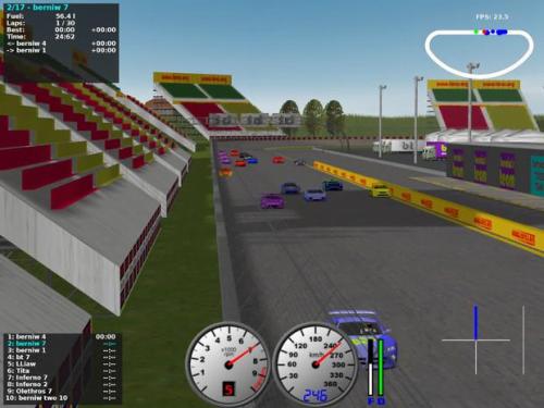 TORCS: Un Juego De Simulador De Carreras De Automóviles De Código Abierto