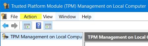 Este dispositivo no puede utilizar un error de Trusted Platform Module al iniciar BitLocker