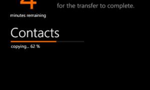Transferir contactos, correo electrónico y cuentas sociales a Windows Phone desde el teléfono antiguo