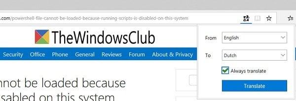 Cómo traducir una página web en Chrome, Firefox y Edge