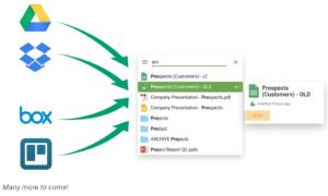 Treev Chrome Extension busca todas sus cuentas en la nube desde una sola barra de búsqueda