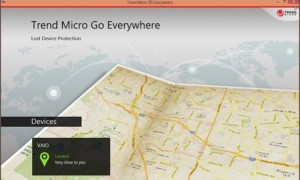 Trend Micro Go Everywhere le ayudará a localizar el dispositivo Windows 8 perdido