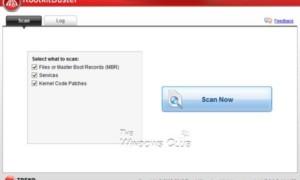 Lista de software gratuito de eliminación de rootkits para Windows
