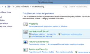 No falta audio o sonido en el equipo con Windows 10
