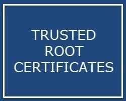 ¿Qué son los certificados raíz para Windows?