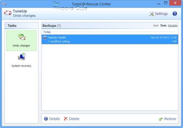 Revisión, Descarga, Sorteo de Utilidades de TuneUp