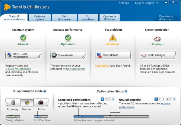 Sorteo: TuneUp Utilidades 2012