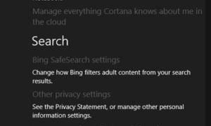Desactivar el cuadro de búsqueda de Cortana en la barra de tareas de Windows 10