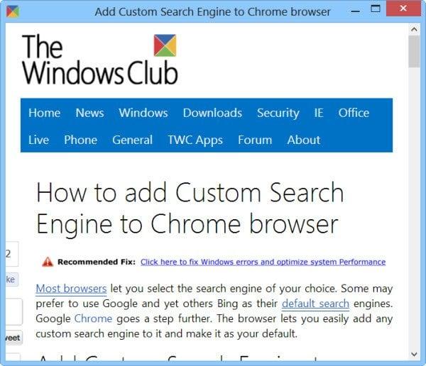 Crea una aplicación de escritorio de tu sitio web favorito con Chrome 3