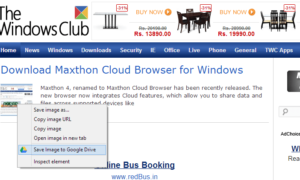 Descargar Save to Google Drive Extension para Google Chrome