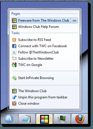 Arreglar: Falta la Jump List o ha desaparecido permanentemente en Windows 7