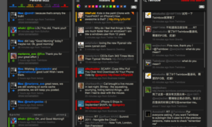 Gestiona tu Twitter con un colorido panel de medios sociales con Twimbow