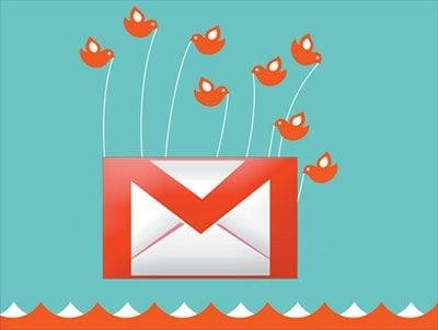 Cómo añadir un gadget de Twitter y un tweet desde tu cuenta de Gmail 1