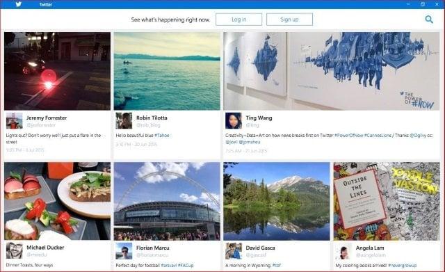 Reseña de la aplicación Twitter para Windows 10