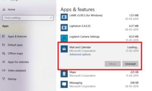 Cómo desinstalar Mail App en Windows 10