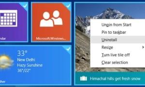 Seleccionar varios azulejos en la pantalla de inicio de Windows 8.1
