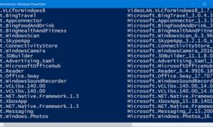 Desinstalación completa de las aplicaciones preinstaladas de Windows Store en Windows 10