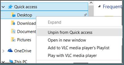 Cómo desactivar el acceso rápido en el Explorador de archivos de Windows 10