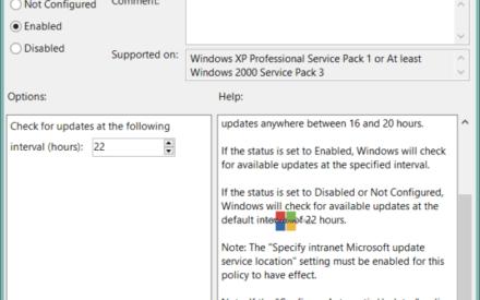 Hacer que Windows 10 compruebe las actualizaciones de Windows más rápido y con más frecuencia