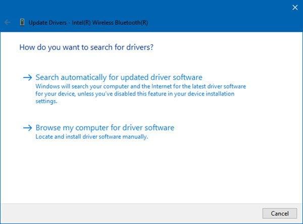 Cómo actualizar los controladores Bluetooth en Windows 10 2
