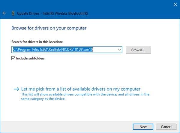 Cómo actualizar los controladores Bluetooth en Windows 10 3