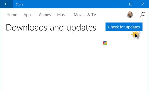 Cómo buscar actualizaciones de Windows Store App manualmente en Windows 10