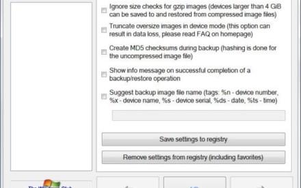 Crear copias de seguridad e imágenes de unidades flash USB con USB Image Tool