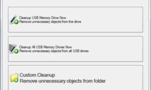 USBDriveFresher: Limpiador de carpetas y archivos basura para unidades USB