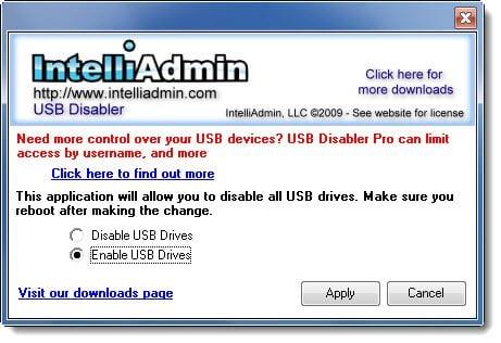 Cómo habilitar o deshabilitar unidades USB o puertos en Windows 10