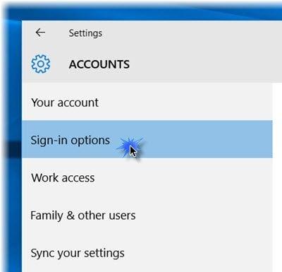Cómo configurar y usar Windows Hello in Windows 10 para iniciar sesión 1
