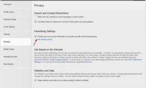 Exclusión voluntaria y mantenimiento de la privacidad al utilizar los Servicios de Google