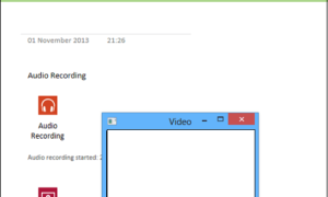 Cómo grabar audio o vídeo con OneNote