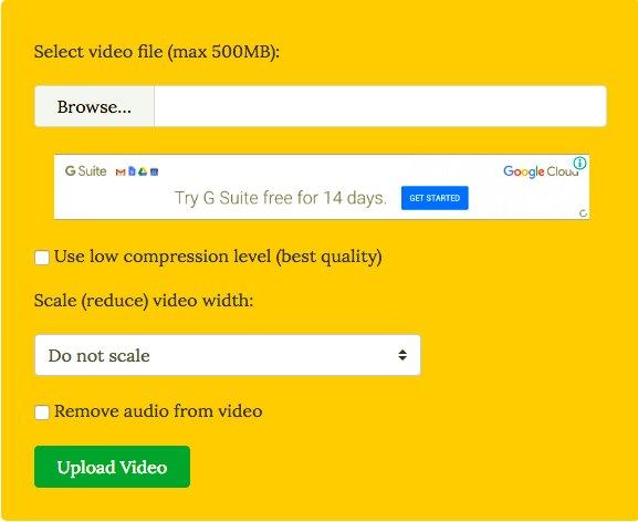 Las mejores herramientas para reducir el tamaño de los archivos de vídeo en línea y fuera de línea 1