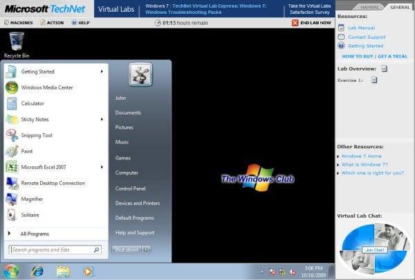 Evalúe los últimos productos y tecnologías de Microsoft en los laboratorios virtuales de TechNet