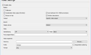 VLC elimina los colores y el problema de distorsión del color