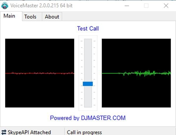 VoiceMaster para Skype facilita el cambio de voz