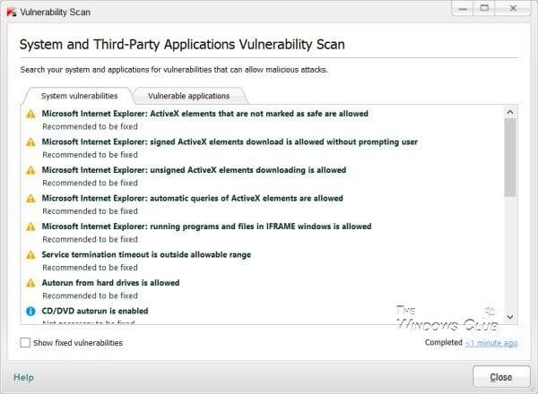 Revisión de la seguridad en Internet de Kaspersky 3