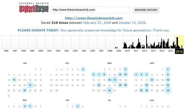 Cómo ver páginas web archivadas o en caché en Internet